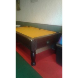 Billard Monarch , tapis Gold