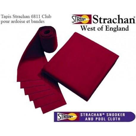 Tapis 6811 Strachan Pré Découpé bordeaux
