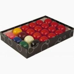 Billes de Billard Jeu Snooker polyester 52,4mm