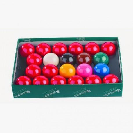 Billes de Billard Jeu Snooker aramith 57mm