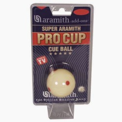 Bille blanche Pro-Cup Super Aramith 52,4mm