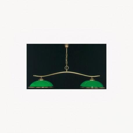 Luminaire Magalas - 2 dômes vert