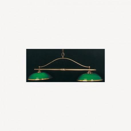 Luminaire Creil - 2 dômes Vert