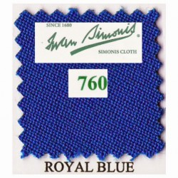 Kit tapis Simonis 760 7ft UK Royal Blue