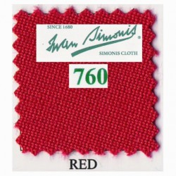 Kit tapis Simonis 760 7ft UK Red