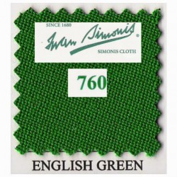 Kit tapis Simonis 760 7ft UK English Green