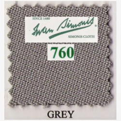 Kit tapis Simonis 760 7ft UK Grey