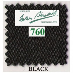 Kit tapis Simonis 760 7ft UK Black