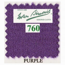 Kit tapis Simonis 760 7ft UK Purple