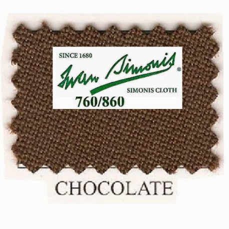 Kit tapis Simonis 760 7ft UK Chocolate