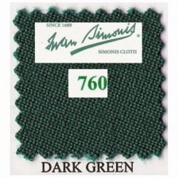 Kit tapis Simonis 760 7ft UK Dark Green