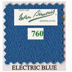 Kit tapis Simonis 760 7ft UK Electric Blue