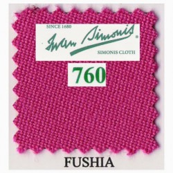 Kit tapis Simonis 760 7ft UK Fushia
