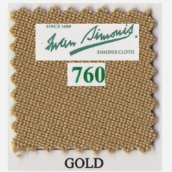 Kit tapis Simonis 760 7ft UK Gold