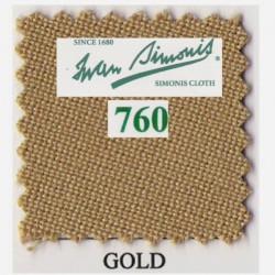 Kit tapis Simonis 760 7ft UK Gold