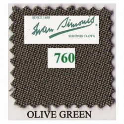 Kit tapis Simonis 760 7ft UK Olive Green
