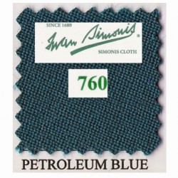 Kit tapis Simonis 760 7ft UK Petrol Blue