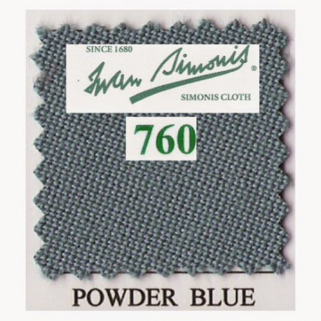 Kit tapis Simonis 760 7ft UK Powder Blue
