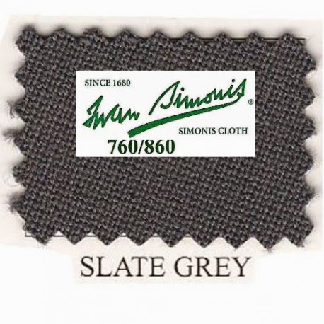 Kit tapis Simonis 760 7ft UK Slate Grey