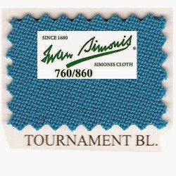 Kit tapis Simonis 760 7ft UK Tournament Blue
