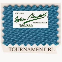 Kit tapis Simonis 760 7ft US Tournament Blue