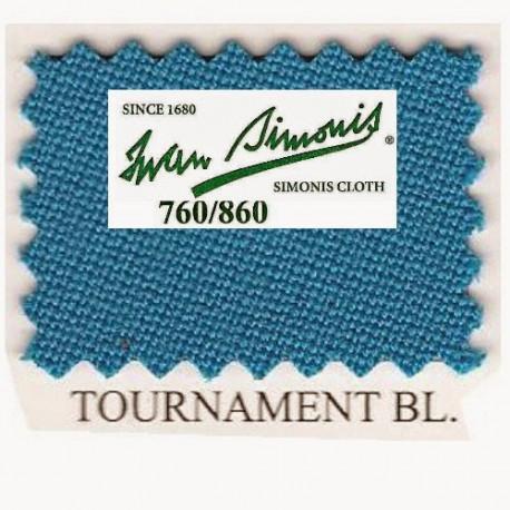 Kit tapis Simonis 760 7ft UK Tournament Blue