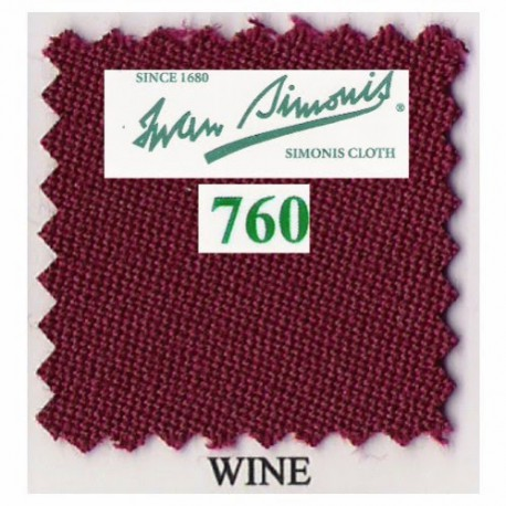 Kit tapis Simonis 760 7ft UK Wine
