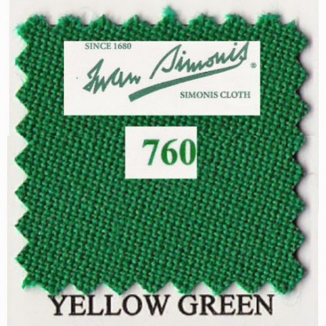 Kit tapis Simonis 760 7ft UK Yellow Green