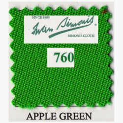 Kit tapis Simonis 760 7ft UK Apple Green