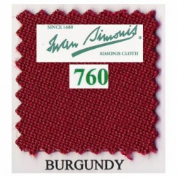 Kit tapis Simonis 760 7ft UK Burgundy