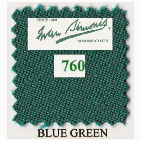 Kit tapis Simonis 760 7ft UK Blue Green