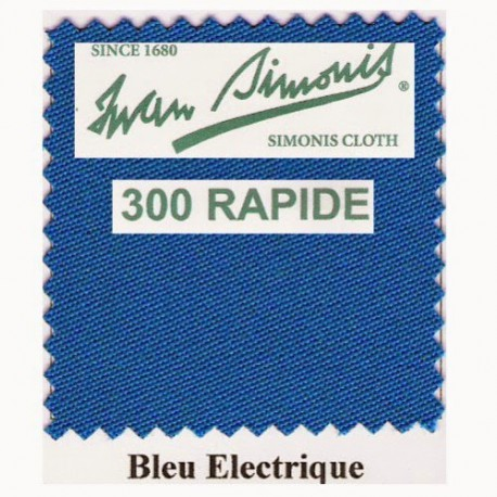 Kit tapis Simonis 300 B220 Bleu Electrique