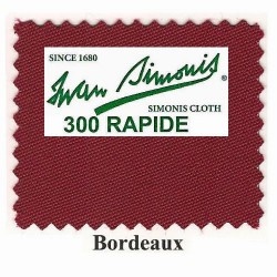 Kit tapis Simonis 300 B220 Bordeaux