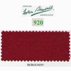 Kit tapis Simonis 920 7ft UK Burgundy