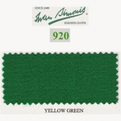 Kit tapis Simonis 920 7ft UK Yellow Green