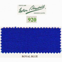 Kit tapis Simonis 920 7ft UK Royal Blue