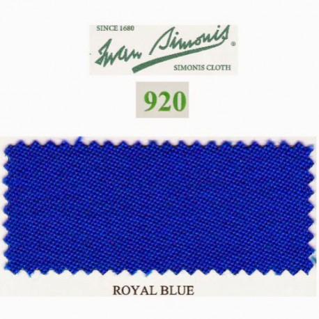 Kit tapis Simonis 920 7ft UK Royal Blue