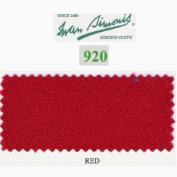 Kit tapis Simonis 920 7ft UK Red