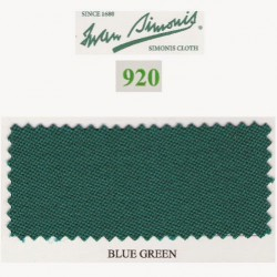 Kit tapis Simonis 920 7ft UK Blue Green