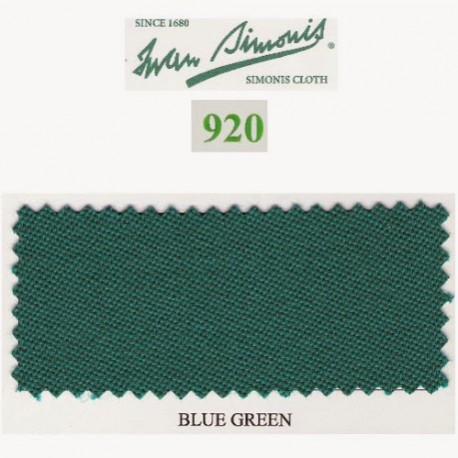 Kit tapis Simonis 920 7ft UK Blue Green