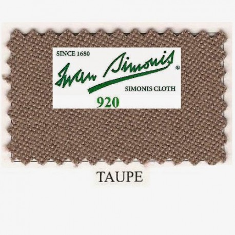 Kit tapis Simonis 920 7ft UK Taupe