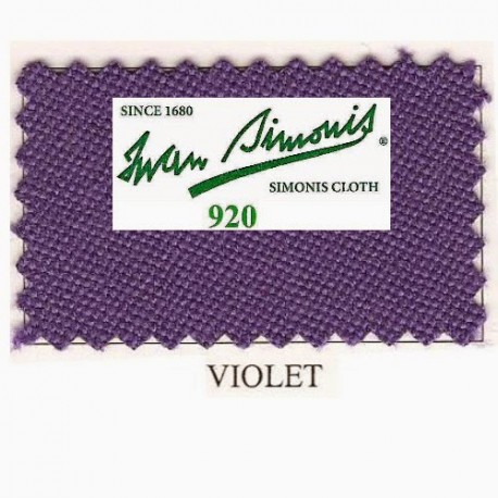 Kit tapis Simonis 920 7ft UK Purple