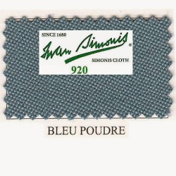 Kit tapis Simonis 920 7ft UK Powder Blue