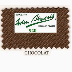 Kit tapis Simonis 920 7ft Chocolate
