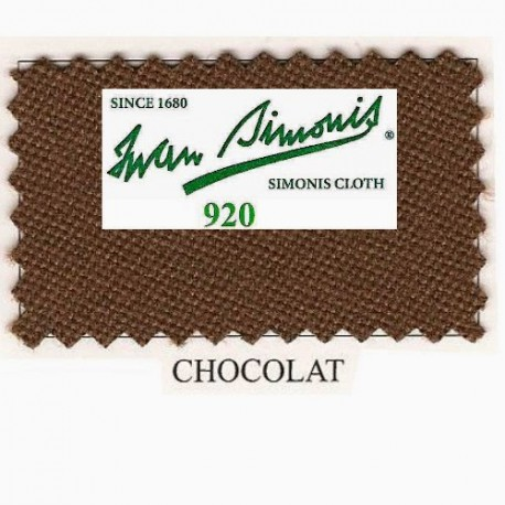Kit tapis Simonis 920 7ft UK Chocolate