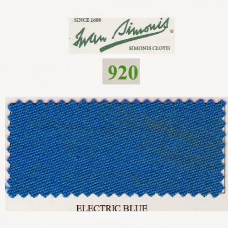 Kit tapis Simonis 920 7ft UK Electric Blue
