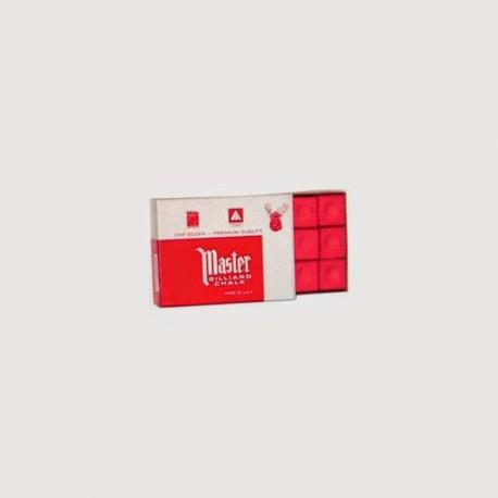 Craies Master rouge - 12 pièces