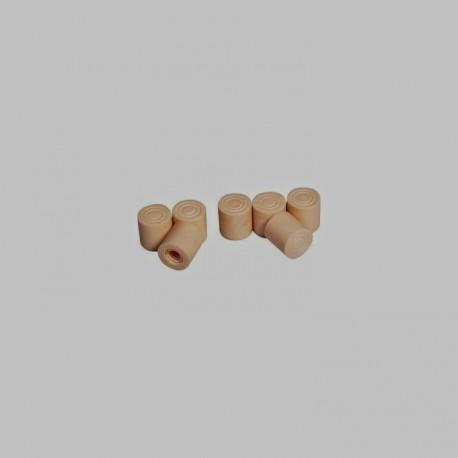Virole cérocite carambole - Ø10mm