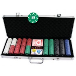 Mallette Poker 500 carré d'as 11.5 gr