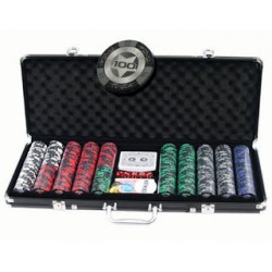 Mallette Poker 500 Crown 14 gr